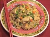 Chinese Chicken Fried Rice With Vegetables
